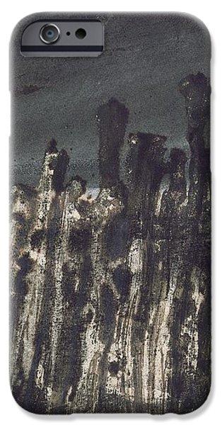 Breakwater in Jersey iPhone Case by Victor Hugo