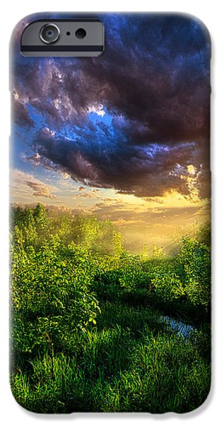 Recently Sold -  - Agriculture iPhone Cases - Breathing Room iPhone Case by Phil Koch