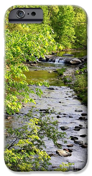 Grist Mill iPhone Cases - Brewster River in Vermont iPhone Case by Patti Whitten