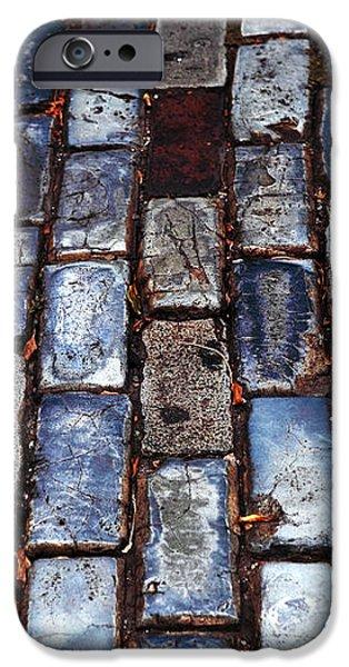 Brick Street iPhone Case by John Rizzuto