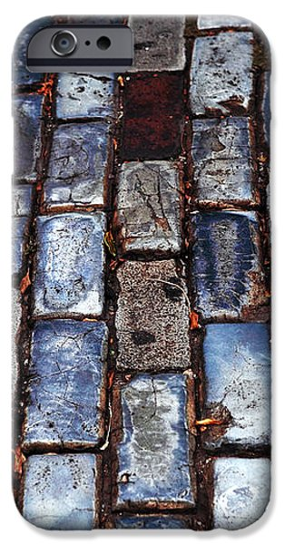 Brick Street iPhone Case by John Rizzuto