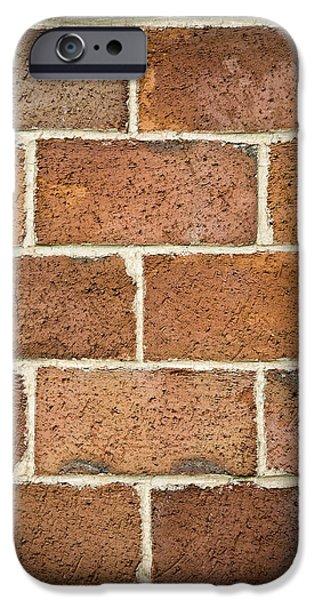 Brick Wall iPhone Case by Frank Tschakert