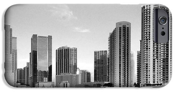 Freedom iPhone Cases - Brickell iPhone Case by Raymel Garcia