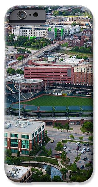 Bricktown Ballpark iPhone Case by Cooper Ross