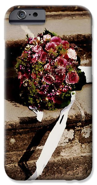 Bridal Bouquet iPhone Case by Mountain Dreams