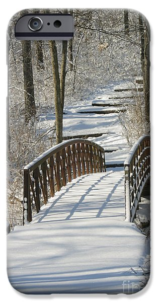 Gingrich Photography iPhone Cases - Bridge 0004 iPhone Case by Gary Gingrich Galleries