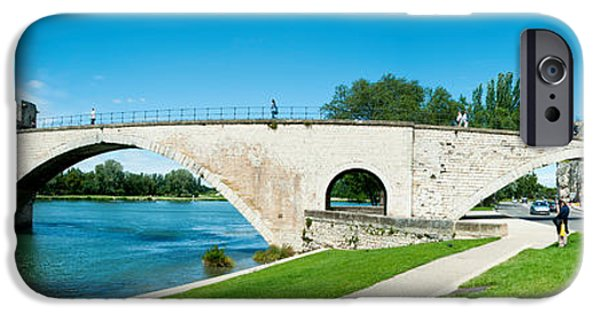 11th iPhone Cases - Bridge Across A River, Pont iPhone Case by Panoramic Images