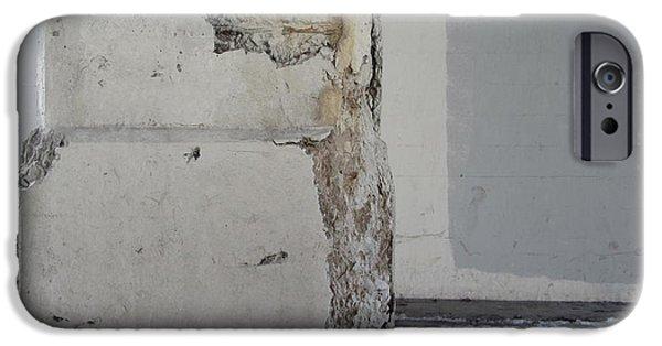 Rust iPhone Cases - Bridge Column Decay 1 iPhone Case by Anita Burgermeister