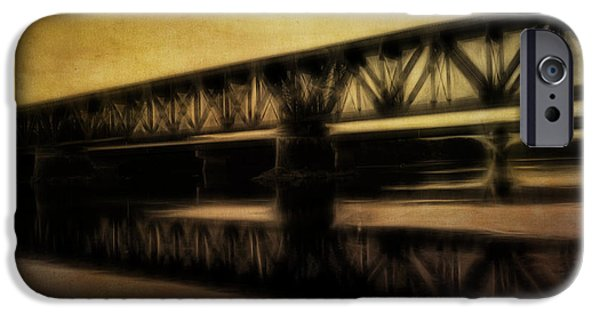 Androscoggin iPhone Cases - Bridge iPhone Case by Gabrielle Libby