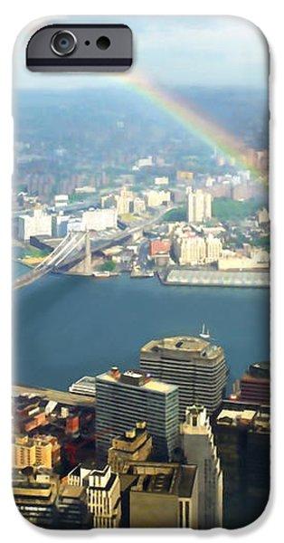 Bridge of Light - In Loving Memory iPhone Case by Michelle Wiarda