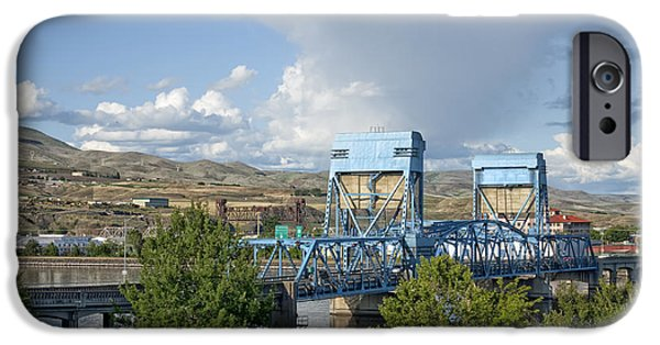 Lewiston iPhone Cases - Bridge to Lewiston iPhone Case by Mountain Dreams