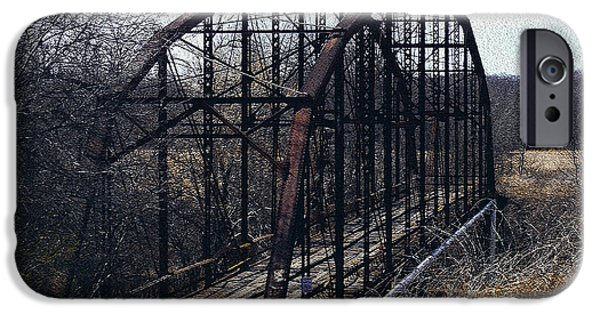 R. Mclellan Photography iPhone Cases - Bridge to Nowhere iPhone Case by R McLellan