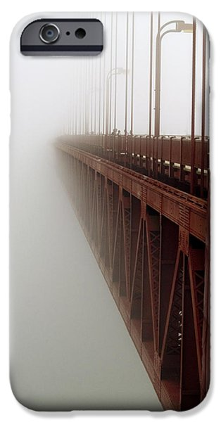 Bill Gallagher Photographs iPhone Cases - Bridge to Obscurity iPhone Case by Bill Gallagher