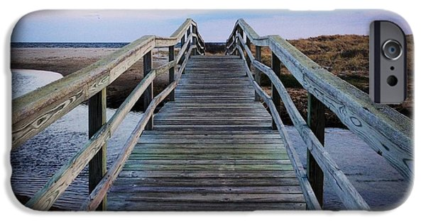 Chatham iPhone Cases - Bridge to Ridgevale iPhone Case by Amy Rounseville