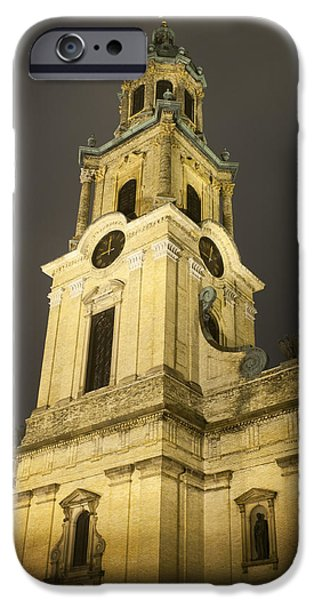 St John The Evangelist Photographs iPhone Cases - Brightening the night iPhone Case by Tim Gumz