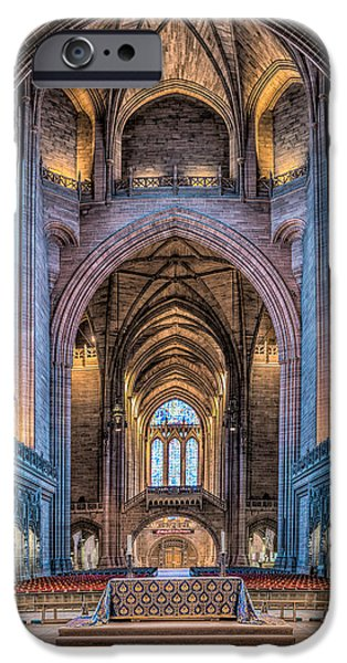 British Cathedral iPhone Case by Adrian Evans
