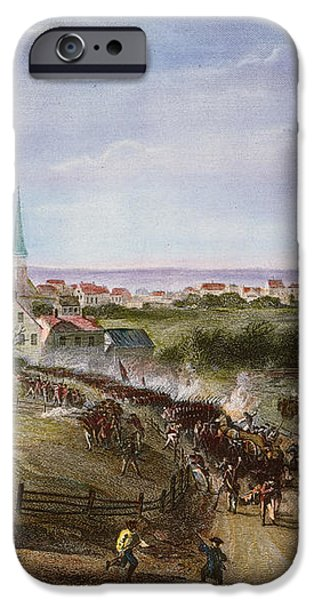 BRITISH RETREAT, 1775 iPhone Case by Granger