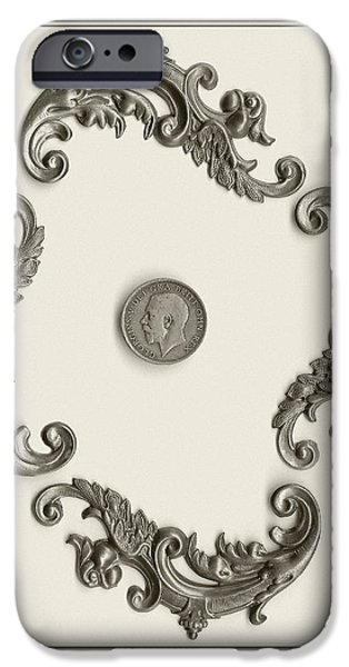 British Shilling Wall Art iPhone Case by Joseph Baril