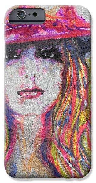 Red Carpet iPhone Cases - Britney Spears iPhone Case by Chrisann Ellis