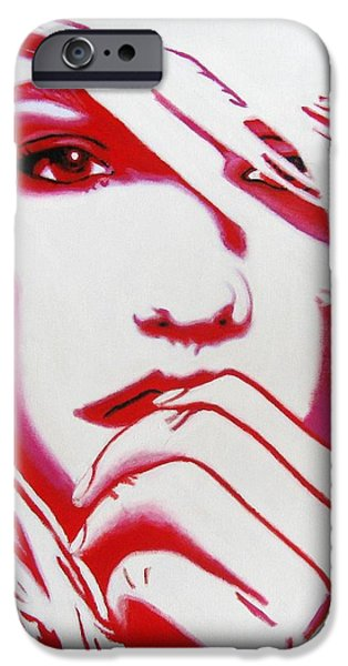 Modernism Mixed Media iPhone Cases - Pieces Of Me iPhone Case by Venus
