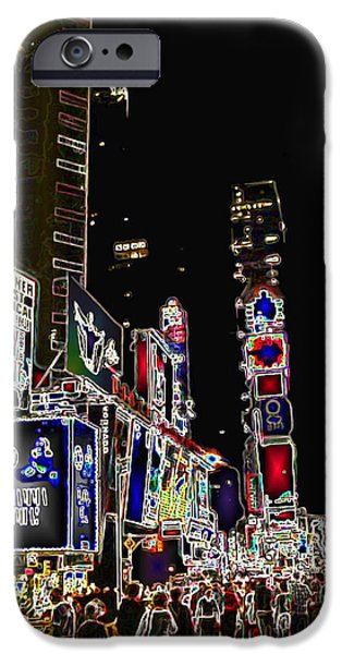 Broadway iPhone Case by Joan  Minchak
