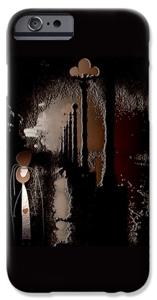 Broadway Meets the West Village at Night iPhone Case by Natasha Marco