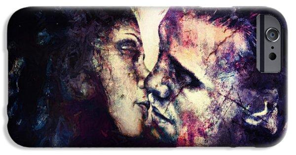 Hidden Desires iPhone Cases - Broken By Temptation iPhone Case by Joe Misrasi