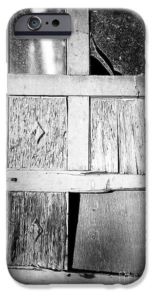 Broken Door iPhone Case by Cheryl Young