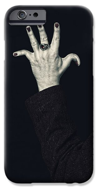 Creepy iPhone Cases - Broken Fingers iPhone Case by Joana Kruse