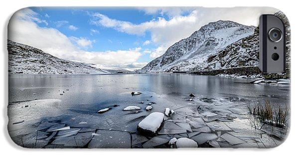 Frozen iPhone Cases - Broken Ice iPhone Case by Adrian Evans