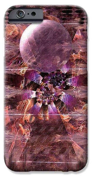 Oil Break Key iPhone Cases - Broken key iPhone Case by Angelica G-N Zizela