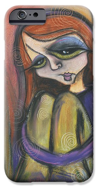 Broken Spirit iPhone Case by Tanielle Childers