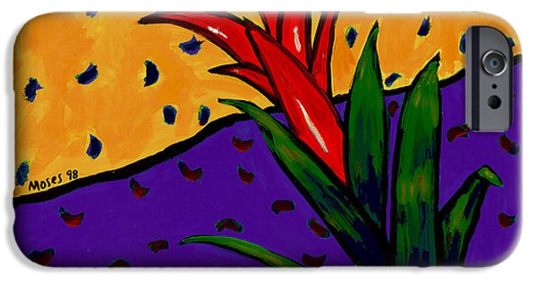 Bromeliad iPhone Cases - Bromeliad iPhone Case by Dale Moses