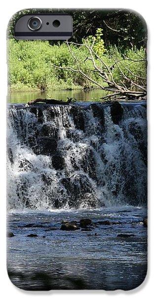 Bronx River Waterfall iPhone Case by JOHN TELFER