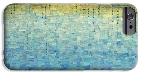 Mosaic Pastels iPhone Cases - Brooke Mosaic iPhone Case by Saramanda Zurbuch