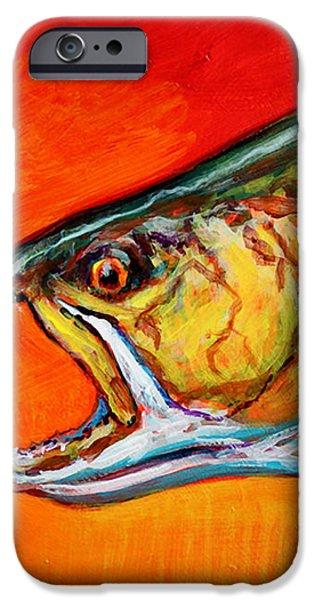 Brookie Portrait  iPhone Case by Mike Savlen
