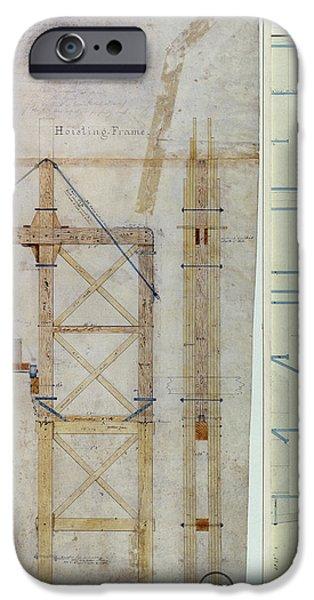 BROOKLYN BRIDGE: DIAGRAM iPhone Case by Granger