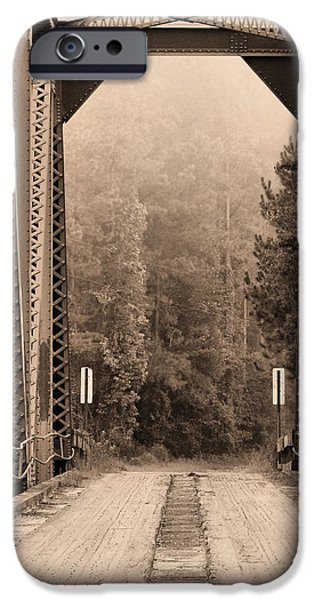 Mayberry iPhone Cases - Brooklyn Bridge iPhone Case by JC Findley