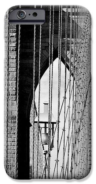 Brooklyn Bridge New York City USA iPhone Case by Sabine Jacobs