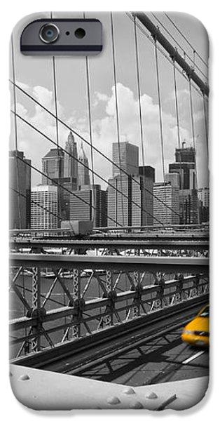 Brooklyn Bridge View NYC iPhone Case by Melanie Viola