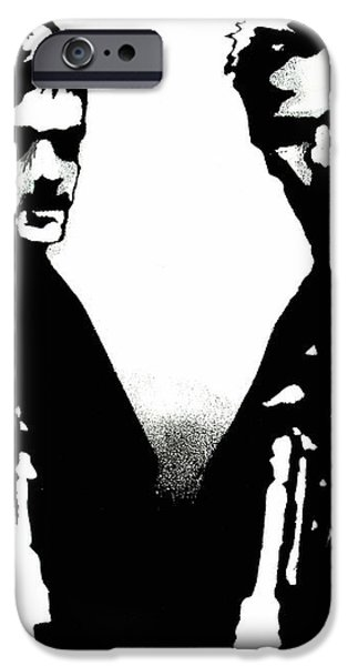 Brothers Killers and Saints iPhone Case by Dale Loos Jr