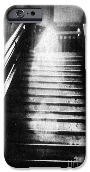 Manifestations iPhone Cases - Brown Lady Of Raynham Hall Ghost 1936 iPhone Case by Photo Researchers