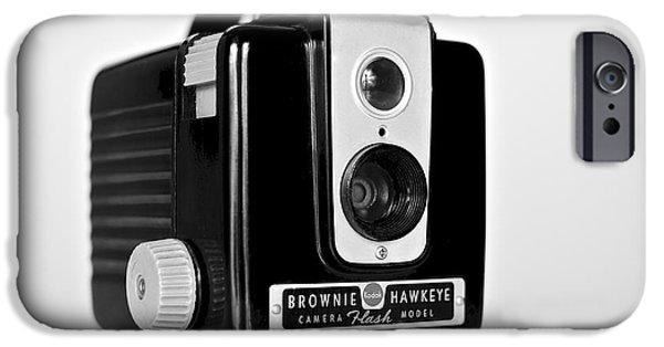 Brownie iPhone Cases - Brownie Hawkeye iPhone Case by Mark Miller