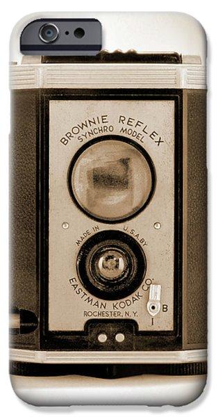Brownie iPhone Cases - Brownie Reflex iPhone Case by Mike McGlothlen