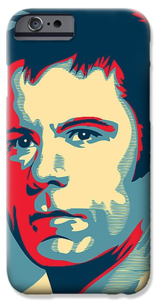 Digital Artwork iPhone Cases - Bruce Dickinson iPhone Case by Unknow