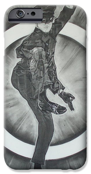 Bruce Lee Is Kato 2 iPhone Case by Sean Connolly