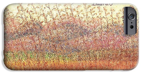 Religious Pastels iPhone Cases - Bruised Reed iPhone Case by Catherine Saldana