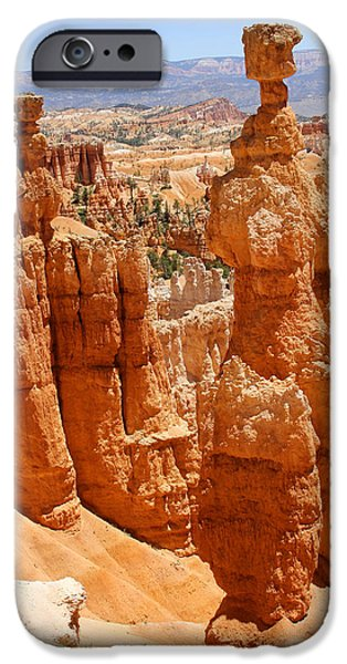 Red Rock iPhone Cases - Bryce Canyon 2 iPhone Case by Mike McGlothlen