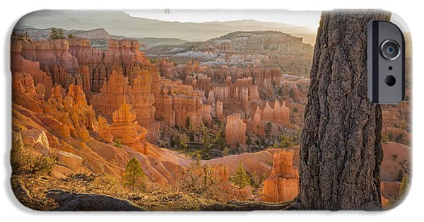 Scenery iPhone Cases - Bryce Canyon National Park Sunrise 2 - Utah iPhone Case by Brian Harig