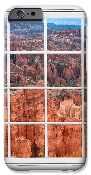 Bryce Canyon White Picture Window View iPhone Case by James BO  Insogna